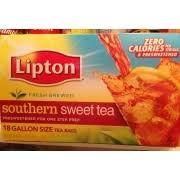 lipton southern sweet tea calories