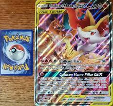 Charizard & Braixen GX - Jumbo - JUMBO Cards XXL Pokémon card SM230