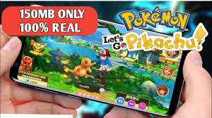 150MB]Pokemon let's go Pikachu APK+OBB Download for Android Highly ...