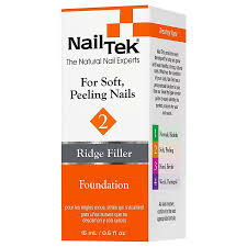nail tek ridge filler base coat for