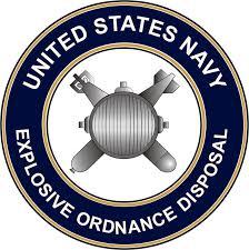 U S Navy Explosive Ordnance Disposal Eod Decal