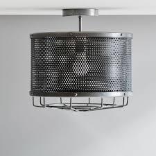 industrial flush mount lighting