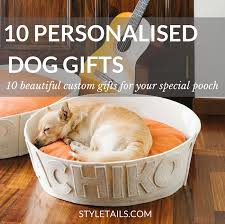 personalised custom gift ideas for dogs
