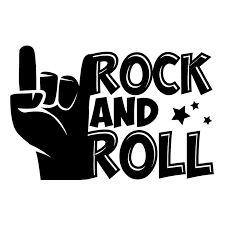 16 10 6cm Rock And Roll Decal Sticker Cool Graphics Motorcycle Suvs Bumper Car Window Laptop Car Stylings Car Stickers Aliexpress