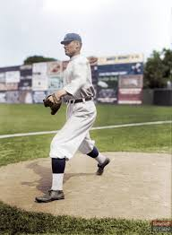 "BaseballInColor on Twitter: ""Walter Johnson, Washington Senators, 1913… """