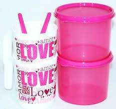 tupperware 4 pc valentine s gift set
