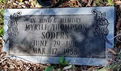 Myrtle Thompson Soders (1915-1988) - Find A Grave Memorial