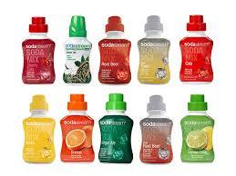 sodastream soda syrup flavor