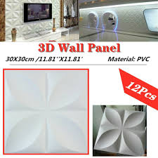 0eba 12pcs Tone Mirror 3d Spiral Round Circle Halo Crystal Wall Sticker Decal Ho For Sale Online Ebay