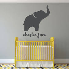 Nursery Wall Decal Personalized Vinyl Decor Wall Decal Customvinyldecor Com