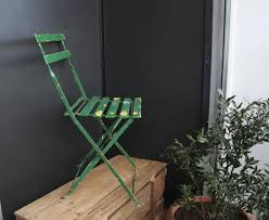 folding chairs giverny monet wood metal