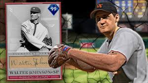 99 OVR} SIGNATURE SERIES WALTER JOHNSON DEBUT | MLB THE SHOW 19 RANKED  SEASONS GAMEPLAY - YouTube