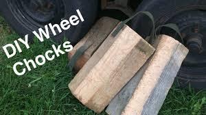 diy wheel chocks you