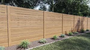 100 Cedartone Horizontal Picket Fence Material List At Menards