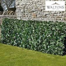 Waltons Garden Privacy Screening Fence Panel Roll Artificial Ivy Leaf 1 X 3m 39 99 Picclick Uk