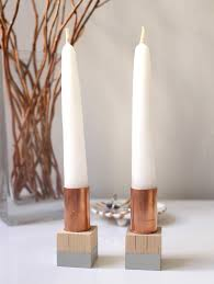 cute taper candle holders for sweet