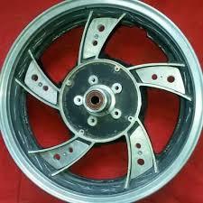 custom aluminum rear wheel inserts