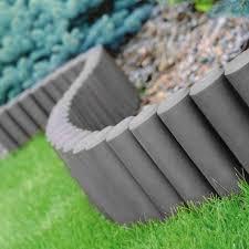8pk garden edging grey