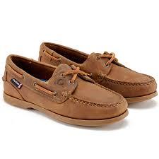 las ham deck shoe in walnut