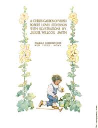 title page from a child s garden of verses