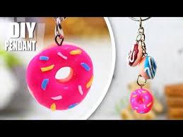 diy pendant easy donut jewelry necklace