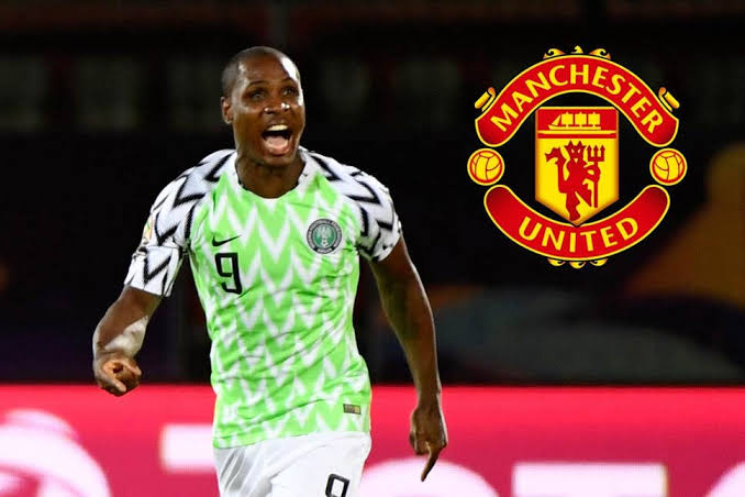 """Image result for Odion Ighalo joins Manchester United on six-month loan"""""""