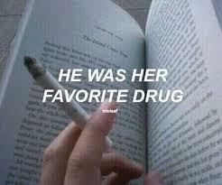 aesthetic book cigarette drug grunge image by
