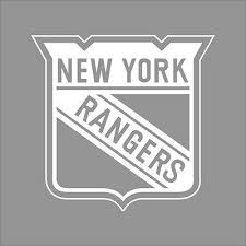 New York Rangers Nhl Team Logo 1color Vinyl Decal Sticker Car Window Wall Ebay