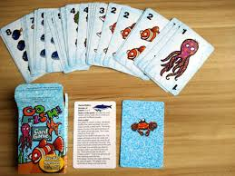 card game of go fish playing cards