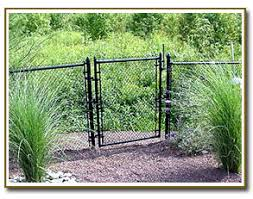 Residential Chain Link Fence Herdt Fencing Inc Crosswicks New Jersey
