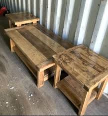 coffee table reclaimed wood vidaxl