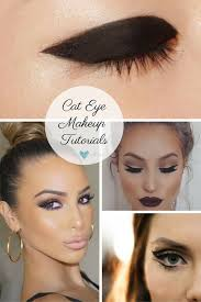 cat eye makeup how to do cat eyes step
