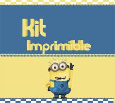 Minions Kit Imprim Personalizados Decoracion Cumpleanos 410 00