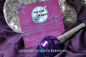Popstars Rockers Party Fiesta Tematica De Violetta Popstars