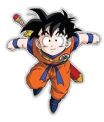 Dragon Ball Z Son Goku Jr Anime Car Window Decal Sticker 001 Anime Stickery Online