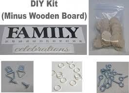 birthday board kit diy kit diy crafts