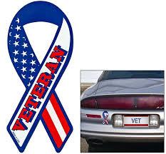 Veteran Ribbon Car Magnet Car Magnets Veteran Military Dogs