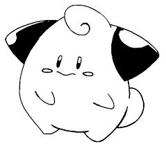 Kleurplaten Pokemon Cleffa Kleurplaten Pokemon