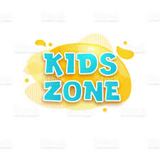 Kids Zone Vector Cartoon Banner Colorful Letters For Childrens Playroom Decoration Sign For Childrens Game Room Kids Zone And Party Room Game Education Fun Area Design Vector Illustration Stock Illustration Download