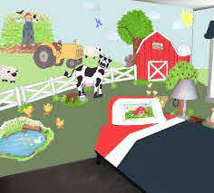 Farm Barn Yard Wall Decals Murals