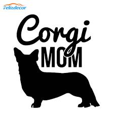 12cm Tall Corgi Decal Corgi Pet Sticker Vinyl Animals Dog Car Decals Cute Decor White Black L658 Car Stickers Aliexpress