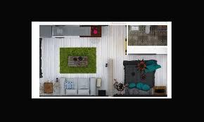 studio apartment layout idea interior