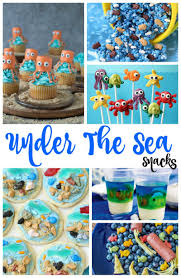 Under The Sea Snacks Perfect Ocean Theme Party Ideas Natural Beach Living