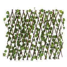 Garden Patio Yard Expandable Artificial Ivy Leaf Fence Decorations Screen Sale Banggood Com