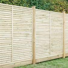 Grange Contemporary Vogue Wooden Fence Panels 6ft Internet Gardener Garden Fence Panels Wooden Fence Panels Wooden Fence
