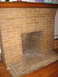 cleaning brick fireplaces
