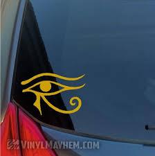 Eye Of Horus Egyptian Hieroglyphic Vinyl Sticker Vinyl Mayhem