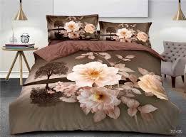 bedding sets home textile hot red rose