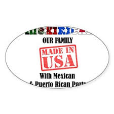 Mexirican Stickers Cafepress