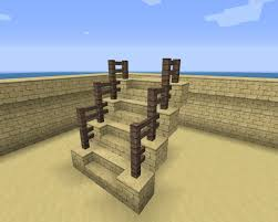 Need Some Help For A Better Handrail Design If There Are Any Minecraft